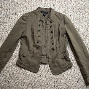 Army green blazer